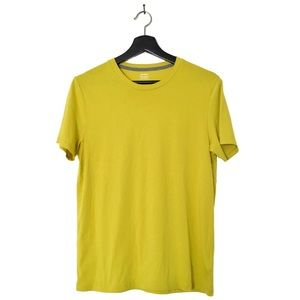 Old Navy Soft-Washed Crew Neck Lime T-Shirt